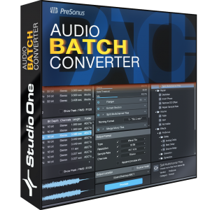 Audio Batch Converter product image.