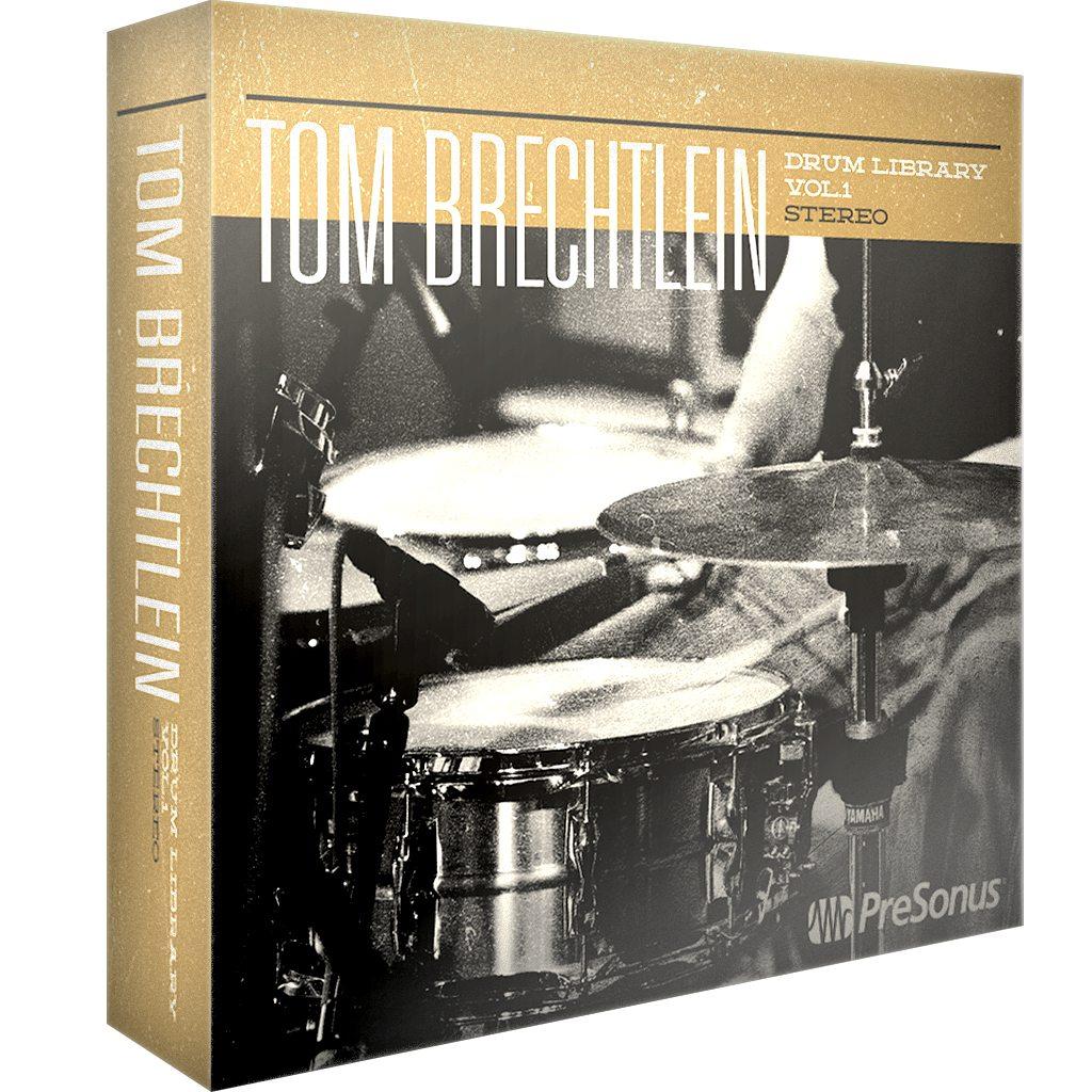 Tom Brechtlein Drums Vol 1 - Stereo | PreSonus Shop