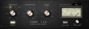 Fat Channel Plug-in - Comp 160 Compressor product image thumbnail