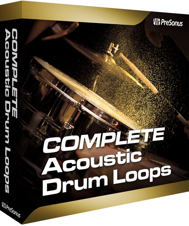 Acoustic Drum Loops Complete *