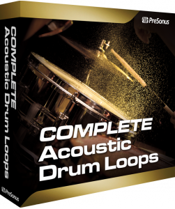 Acoustic Drum Loops Complete product image thumbnail