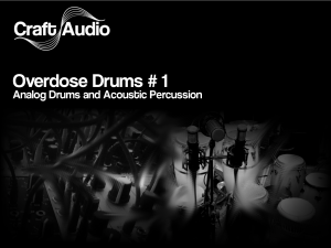 Craft Audio - Overdose Drums No.1 product image thumbnail