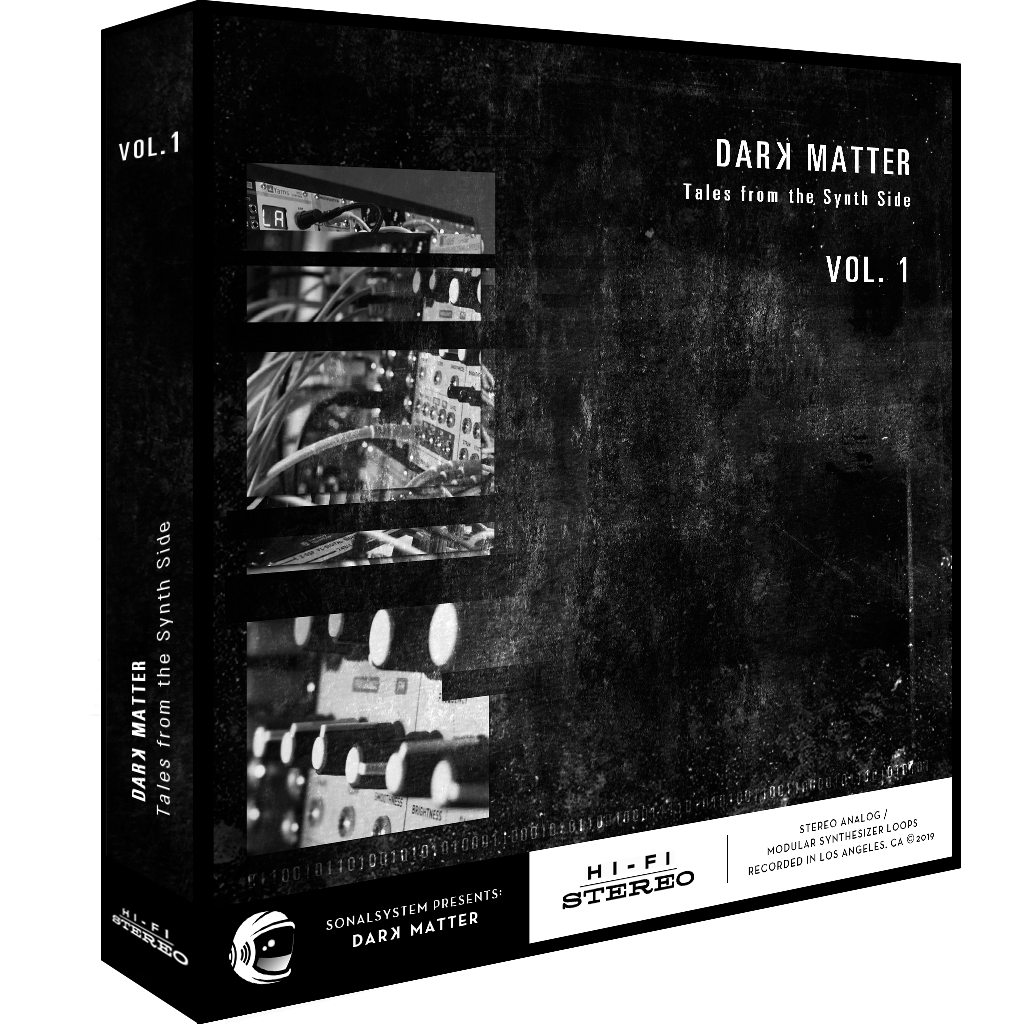 SonalSystem - Dark Matter - Tales From The Synth Side Vol  1