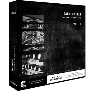 SonalSystem - Dark Matter - Tales From The Synth Side Vol. 1  product image thumbnail