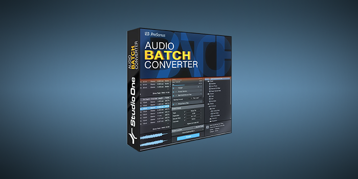 Audio Batch Converter screenshot