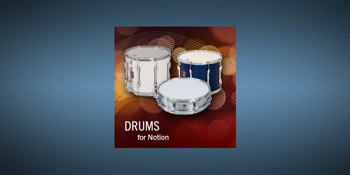 Drums screenshot