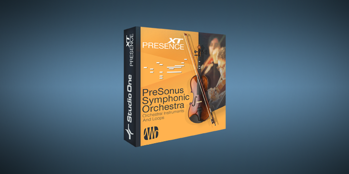 PreSonus Symphonic Orchestra screenshot