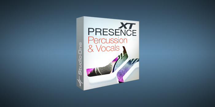 Presence XT Core Percussion and Vocals screenshot