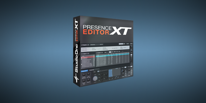 Presence XT Editor screenshot