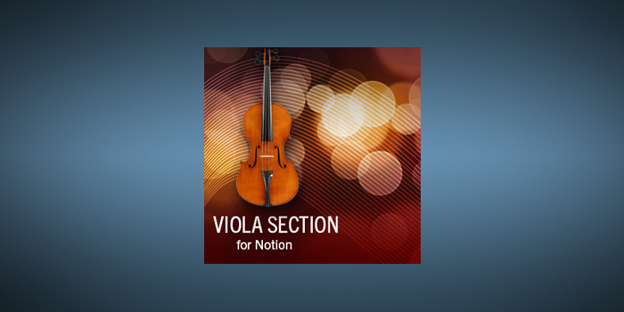 Viola Section Techniques screenshot