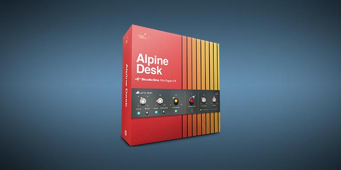 Alpine Desk screenshot
