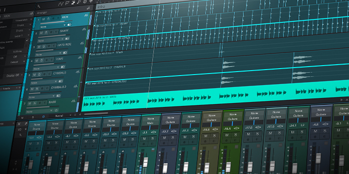 Multitrack Drum Editing screenshot