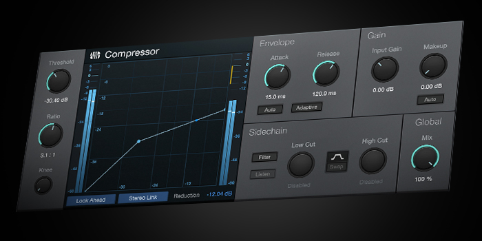 Compressor screenshot