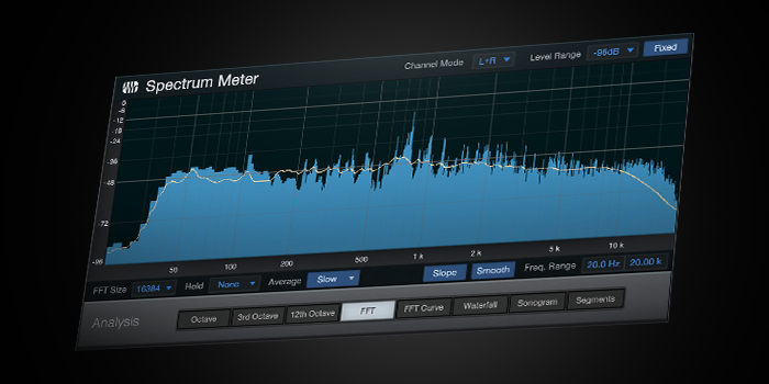 Spectrum Meter screenshot