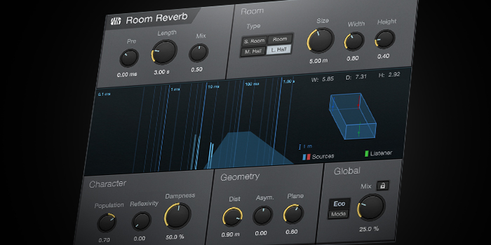 Room Reverb screenshot