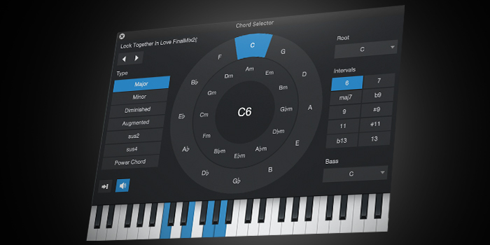 Chord Track and Harmonic Editing screenshot