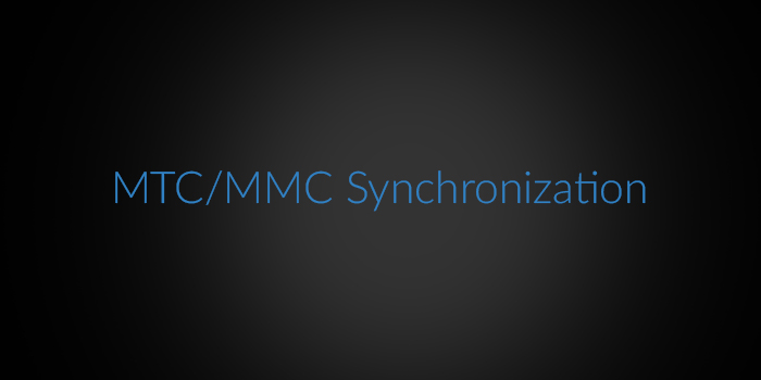 MTC/MMC Synchronization screenshot