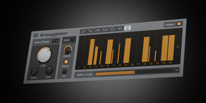 Arpeggiator screenshot