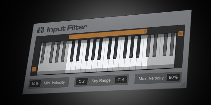 Input Filter screenshot