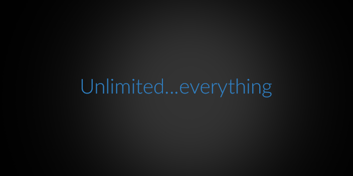 Unlimited...everything screenshot