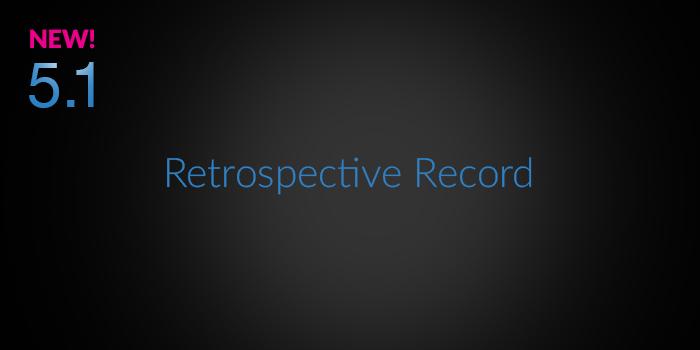 Retrospective Record screenshot