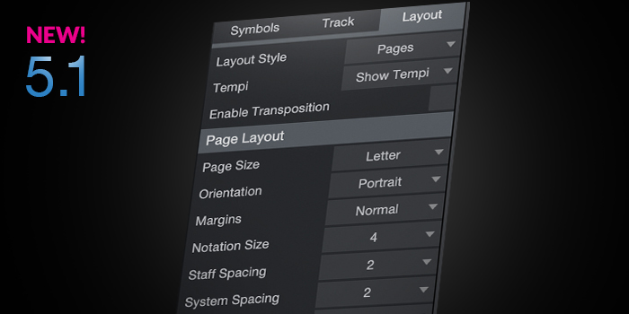 Score Printing screenshot