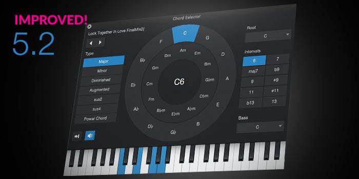 Chord Track and Harmonic Editing screenshot
