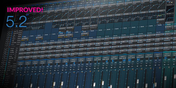 Mix Console screenshot