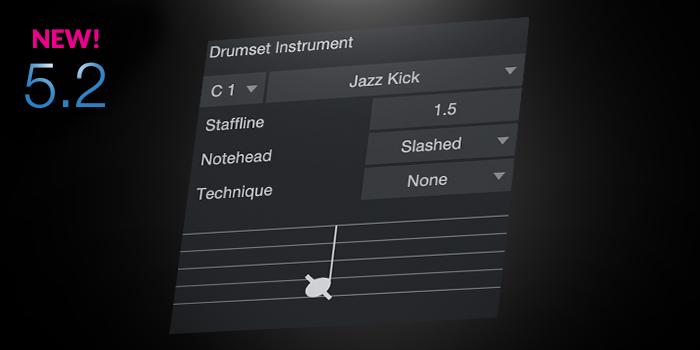 Drum Notation screenshot