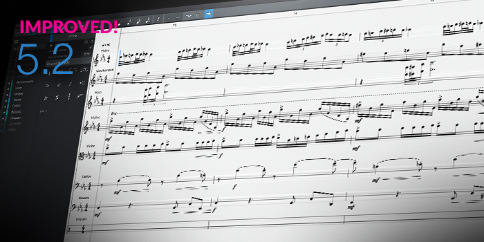 Score Editor screenshot