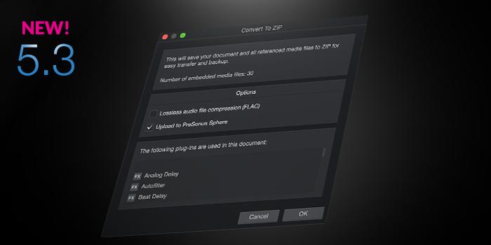 Backup and Archive screenshot