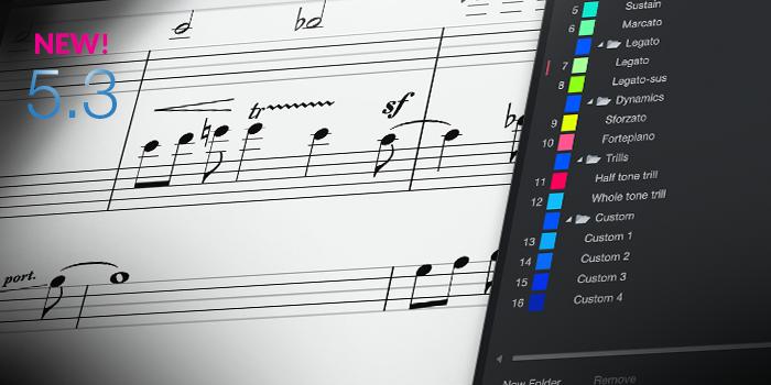 Musical Symbols and Dynamics Processing screenshot