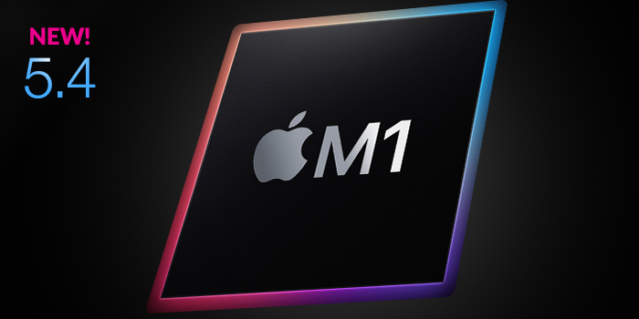 Native support for Apple Silicon (M1) processors screenshot
