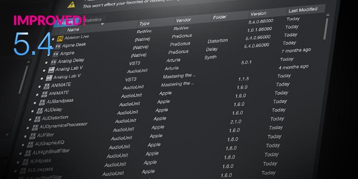 Plug-in Manager screenshot