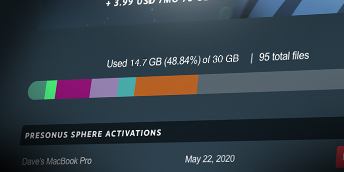 30GB Cloud Storage screenshot
