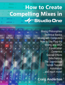 Craig Anderton - How to Create Compelling Mixes in Studio One product image thumbnail