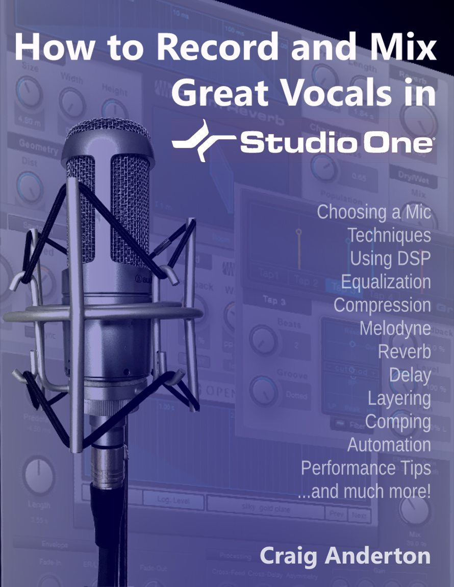 How to Record and Mix Great Vocals in Studio One | PreSonus Shop
