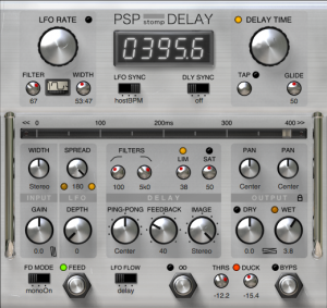 PSP Audioware - stompDelay product image thumbnail
