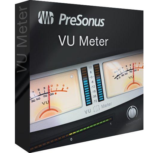 Vu Meter Presonus