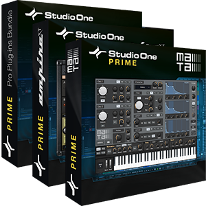 Studio One 3 Prime Add-On Bundle