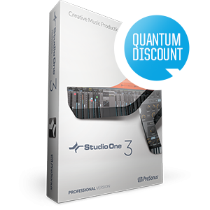 Studio One 3 Artist to Professional: Quantum Upgrade