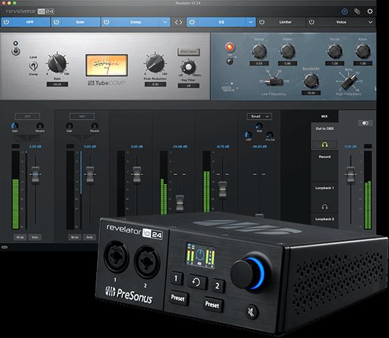 Revelator io24 with software