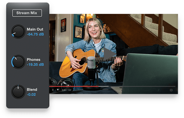 Stream mix mode makes streaming easy