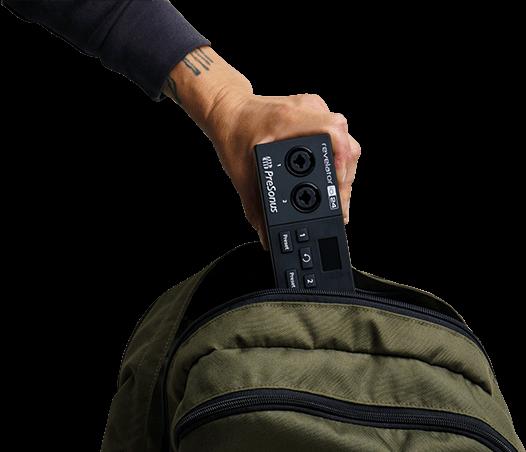 Revelator io24 is portable