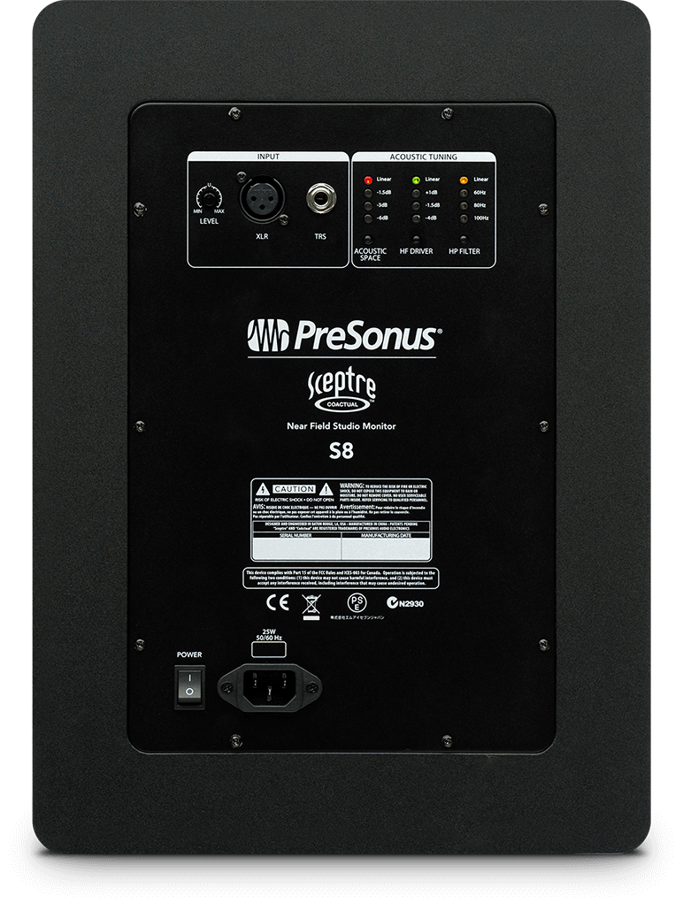 Sceptre S8   PreSonus