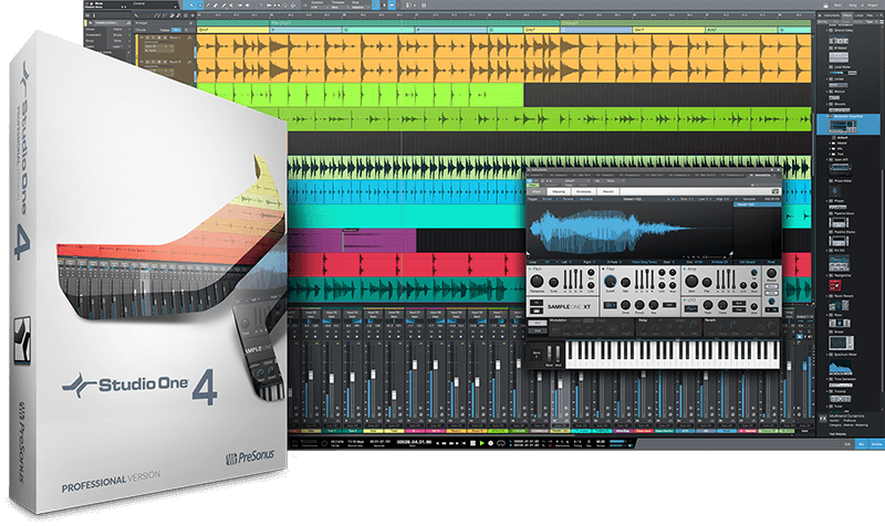 PreSonus Studio One 4 Professional. Click for larger image.