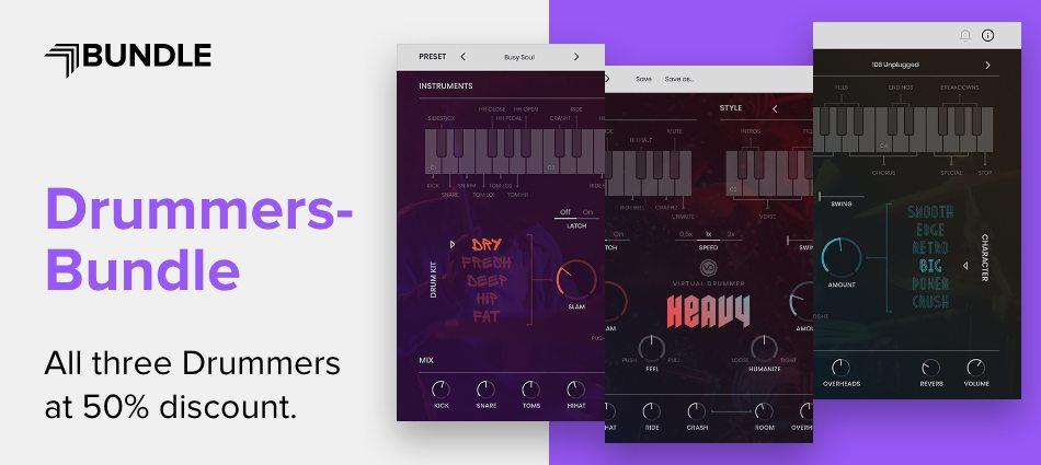 UJAM - Virtual Drummers Bundle | PreSonus Shop