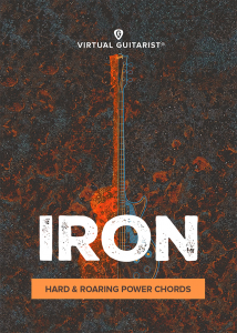 UJAM - Virtual Guitarist - IRON product image thumbnail