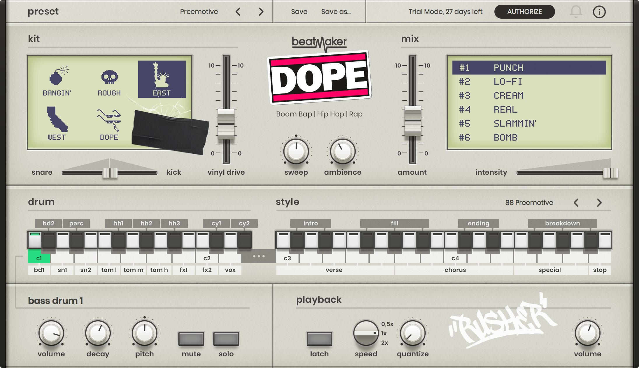 UJAM - Hip-Hop Bundle *