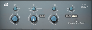 Fat Channel Plug-in - Vintage 3-Band EQ product image thumbnail